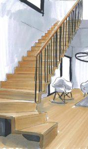 Escalier Symba ply